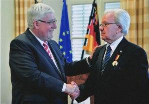 Verleihung Landesverdienstmedaille von Landtagspräsident Mertes, 2013, Mainz